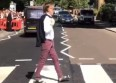 Paul McCartney rejoue la pochette d'Abbey Road