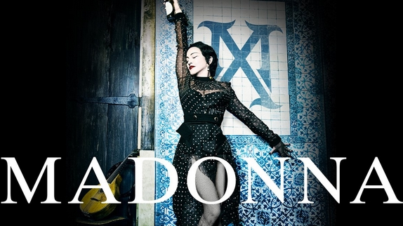 La chanteuse Madonna en concert au Grand Rex de Paris en 2020