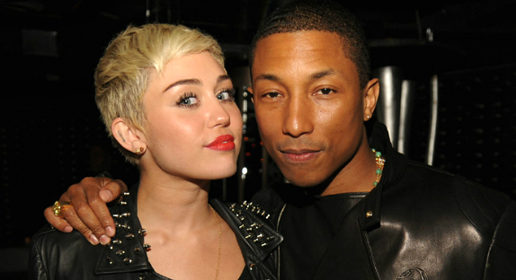 « Come Get It Bae »  ->  Pharrell Williams et Miley Cyrus en duo pour le marché américain