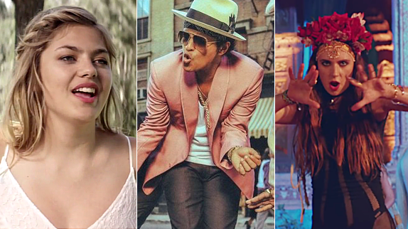 Les 20 plus gros tubes de 2015 en France : Louane, Marina Kaye, Major Lazer...