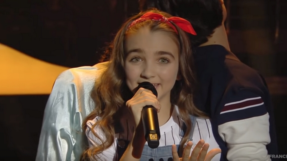 La France arrive en seconde position avec Angelina — Eurovision junior