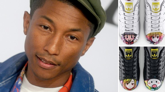 Pharrell Williams crée une nouvelle collection de baskets