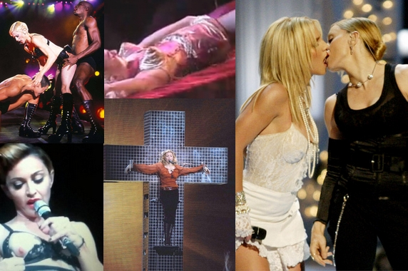 Sexe, religion... Madonna en 10 provocations