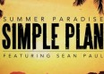 "Sean Paul & Simple Plan sur ""Summer Paradise"""