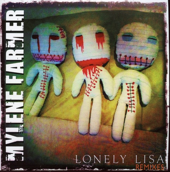 Mylène Farmer Lonely Lisa CD Promo Remixes 1