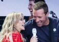 Kylie Minogue invite Coldplay en plein concert