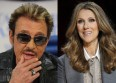 Celine Dion invite Johnny Hallyday sur son album