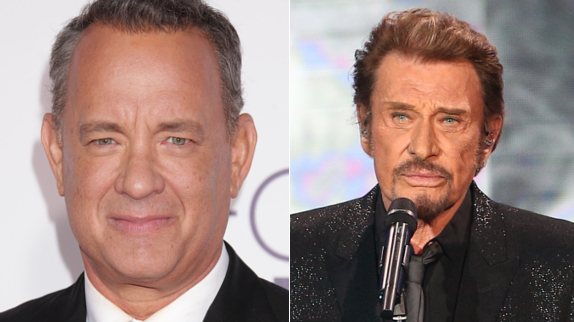 Tom Hanks confie être fan de Johnny Hallyday