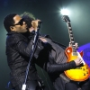 Lenny Kravitz en showcase à New York : photos