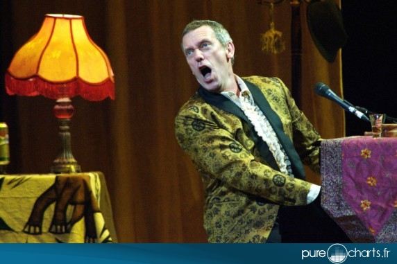 Hugh laurie en concert à moscou : photos
