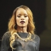 Rihanna en live au Barclay Center de New-York : photos
